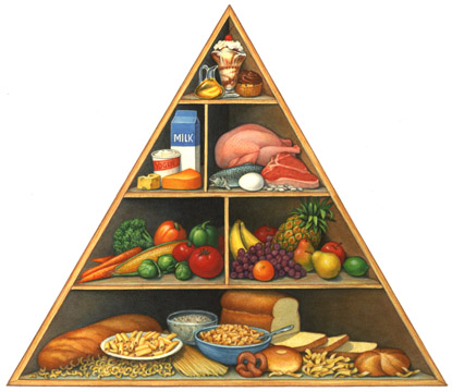 Health Corner: What is the Nutrition Pyramid?