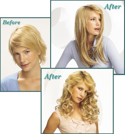 Before And After Pics Of Hair Extensions For Short Hair 69